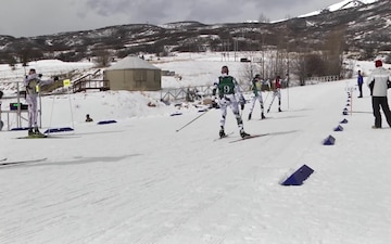 Vermont National Guard Biathletes Ski a Patrol Race