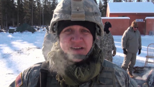 Wyoming National Guard infantry soldiers train in Alaska's frozen interior
