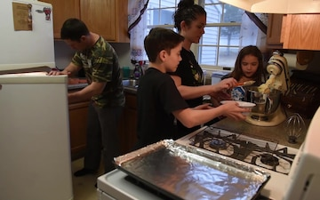 OS1 Nichole Cook shares how she maintains a healthy work & family balance