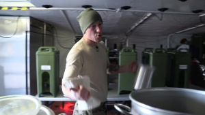 Colorado SF Kitchen in Arctic Training