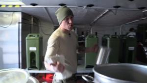 Colorado SF Kitchen in Arctic Training