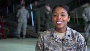 Taking the Fight Forward - Lt. Col. Theodosia Hill