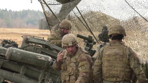 Dynamic Front 18 - 2nd Calvary Regiment Fires Howitzer