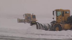 Iowa Air Guard Civil Engineers tackle March snow