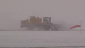 Iowa Air Guard Civil Engineers clear March snow