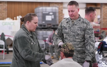 Oregon National Guard CERFP trains in Montana