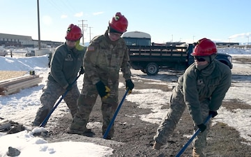 Oregon National Guard trains in Montana