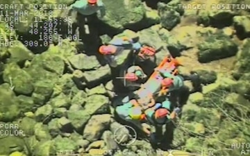 Coast Guard, Locals Respond to Injured Hiker in Carson, Wash.