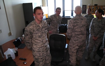 ANG director, command chief visit Horsham Air Guard Station