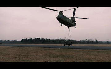 Air Cav trains at Grafenwoehr (Social Media)