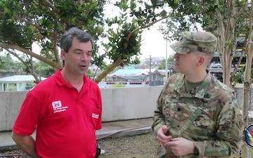LTC Jones and Tim Wilder send greetings from Puerto Rico