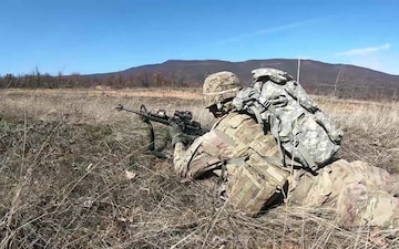 1-18 Infantry Conducts Training in Bulgaria (B-Roll)