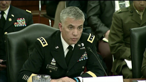 Service Cyber Chiefs Testify at Senate Subcommittee Hearing