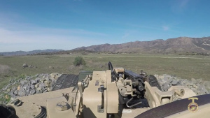 4th Tank Bn. trains on Camp Pendleton