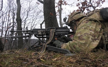 Soldiers Come Together to Enhance Squad Live Fire Efficiency (B-Roll)