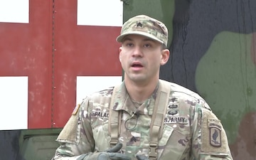 EFMB STRONG EUROPE 173rd NCO Interview