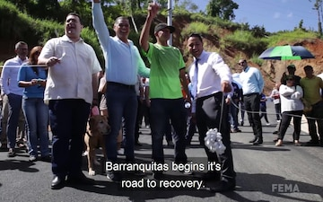 Barranquitas Inaugurates Bridge Opening On PR-152
