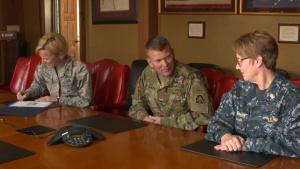 JBSA Commanders honor women's impact to nation