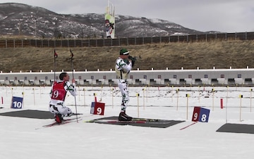 Vermont National Guard Biathletes Ski Patrol Race