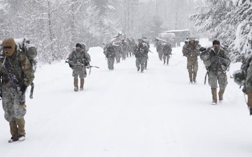 2nd Battalion, 22nd Infantry Regiment Supports Mountain Peak, 2018