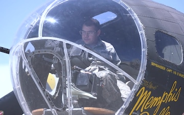 """Historic """"Memphis Belle"""" movie replica visits MacDill AFB"""