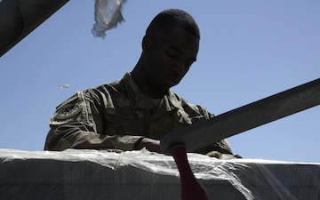 455 ELRS Airman keeps cargo moving