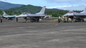 U.S., Indonesian air forces conduct exercise Cope West 2018 B-roll