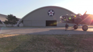 B-17F Memphis Belle Moves to WWII Gallery at National Museum of the USAF