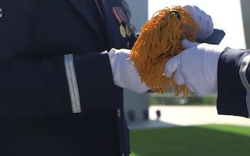 US Air Force Memorial Medal of Honor Flag Folding