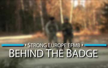 Strong Europe EFMB: Behind The Badge