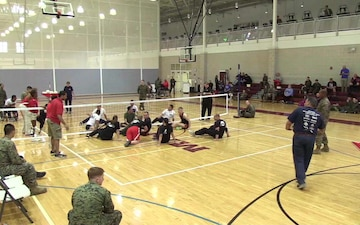 2018 Marine Corps Trials- Sitting Volleyball Bronze & Gold Medal Games, Part 1