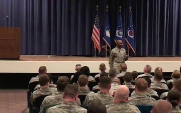 CMSgt of the Air Force: Facebook Live at Peterson Air Force Base 6 Mar 18