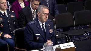 Stratcom Commander Testifies at Senate Budget Hearing