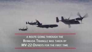 MV-22 Ospreys Travel a New Route Over the Atlantic Ocean