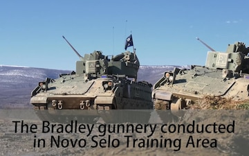 Soldiers Qualify on M2 Bradley in Bulgaria (Social Media)
