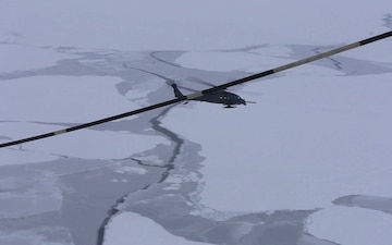 Alaska Guardsmen conduct aerial refueling, arctic operations in frozen Beaufort Sea