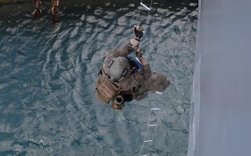 Marines Conduct VBSS On Board USS Frank Cable