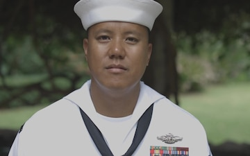 Pacific Fleet's Sailor of the Year Finalist Hospital Corpsman 1st Class Genesis F. Mariano Interview B-Roll