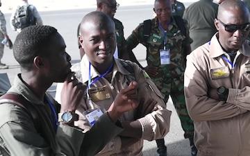 APF Senegal | Aeromedical Evac Practice | broll