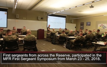 MFR First Sergeant Symposium