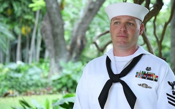 Pacific Fleet Sailor of the Year Finalist ND1 Michael J. Tuft B-roll Interview