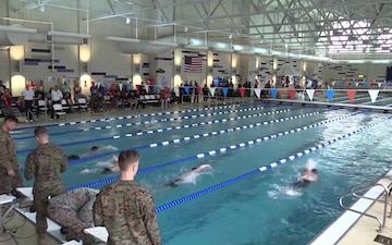 2018 Marine Corps Trials-Swimming (MCAS New River Indoor Pool), Part 1