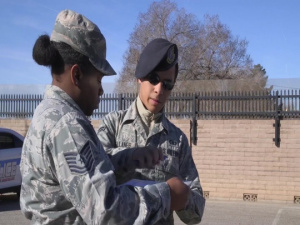 377th ABW Commander Speaks on Kirtland Gate Operations