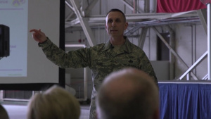 18th Air Force Commander Visits Fairchild