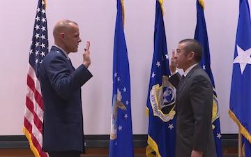 Senior Executive Service Promotion Ceremony honoring Mr. Edwin H. Oshiba