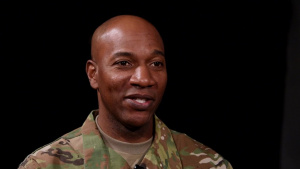 CMSAF Kaleth O. Wright Interview from Cannon AFB