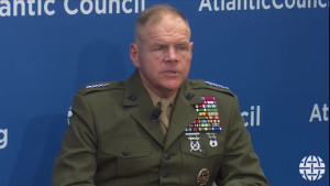Marine Corps Commandant Speaks at Atlantic Council