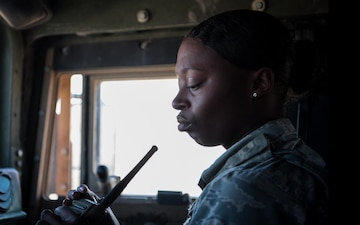 Women's History Month: A1C Edwards, I am a defender!
