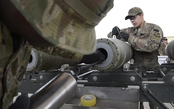 455 EMXS munitions crew member provides the power in Airpower