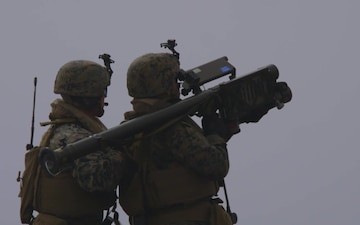 26th MEU, LAAD Detachment Conducts a Stinger Trainer Launch Simulator Shoot at Sea